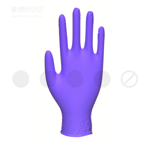 Cobalt Pearl Nitrile Gloves - Box