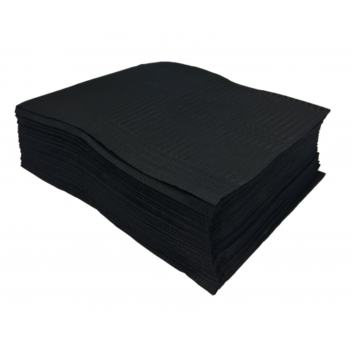 Black Lap Cloths - Box