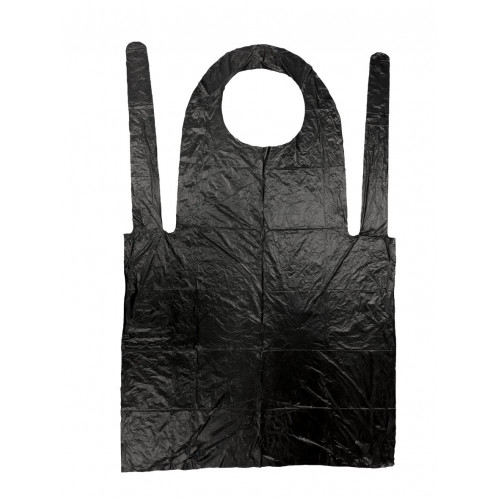 Black Disposable Aprons - Box