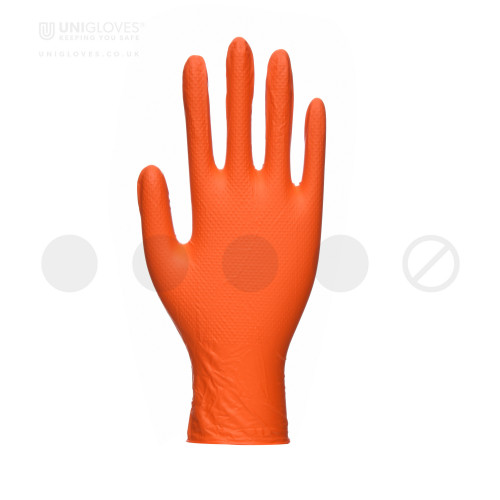 PRO.TECT Orange HD Diamond Nitrile - Box