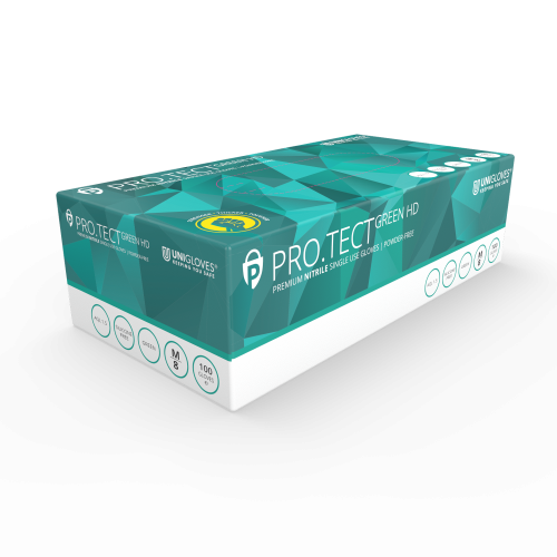 PRO.TECT Green HD Nitrile - Box