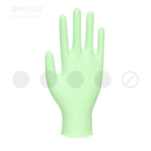 Vitality Mint Latex Moisturising Gloves - Box