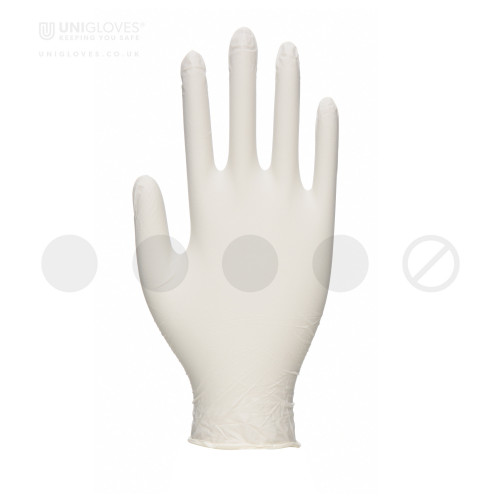 Vitality Latex Moisturising Gloves - Box