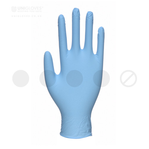 Blue Pearl Nitrile Gloves - Box