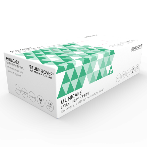 Small Unigloves Strong Black Pearl Nitrile Gloves 3 Boxes