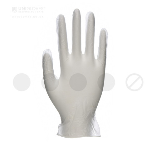 Unicare Clear Vinyl Gloves - Box