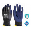 13gg grey cut resistant foam nitrile coated glove - 10 pairs - size 8