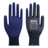 Nitrex 340RF - Foam Nitrile Level D Safety Gloves - Reinforced Thumb Crotch - Sanitized® Actifresh - NitreGuard Technology - In Bags of 10 Pairs